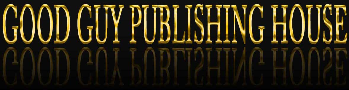 Good Guy Publishing House in gold 3D letters